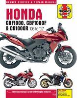 Haynes Manual 4927 Honda CBF1000 2006-10 CBF1000F 2011-17 CB1000R 2008-17
