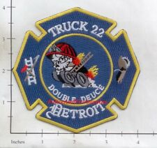 Michigan - Detroit Ladder 22 MI Fire Dept Patch