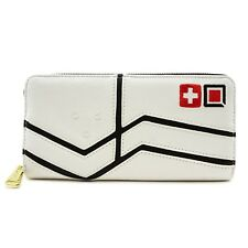 Loungefly Overwatch Mercy Video Games Zip Faux Leather Clutch Wallet Owwa0002
