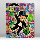 Alec Monopoly Money Art graffiti Acrylic Painting Wall art Pictures Street art
