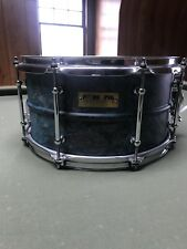 PORK PIE BRASS PATINA SNARE DRUM.