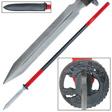 Damascus Steel Blade Collectible Spears & Spear Heads for
