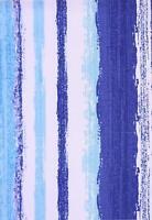 Türkisblau Weiß Gestreift Wasserabweisend Tischläufer Ess 36X183CM