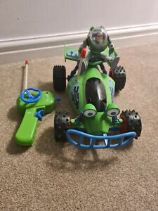 Toy Story Racing Car With Remote Control Including Buzz Lightyear