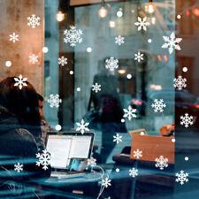 96pcs Glass Window Snowflake Stickers Children's Room Christmas Decorations