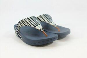 FitFlop Lulu Thong Women's Denim/Midnight Navy Sandals (ZAP7165)