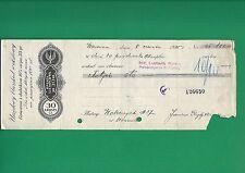 Poland Promissory note - POLSKI WEKSEL - Ludwik Rohn - 1935 - URZĘDOWY BLANKIET