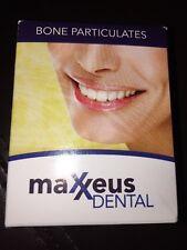 Maxxeus Dental Bone Graft - 1.0cc Corticocancellous 0.25-1.0 mm Ref DH010