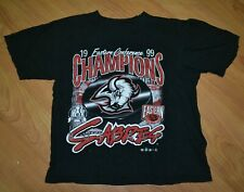 Vintage 1999 Buffalo Sabres Eastern Conference Champions T Shirt Youth Large NHL