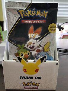 Pokemon TCG: First Partner Pack (Galar), 2021 25th Anniversary Jumbo Cards NEW