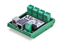 Dmxking Edmx4 DIN 4-port Artnet/sacn Via Ethernet to DMX 512 Converter
