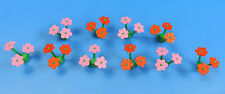 LEGO Flowers / Plants / 10 Pcs 5 pink / 5 red flowers