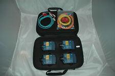 Fluke DTX sfm2 mfm2 Complete Set SM MM Fiber Module 4 dtx-1800 CABLE Analyzer