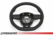 S-Line Flattened Leather Steering Wheel with Rocker Switches Audi A6
