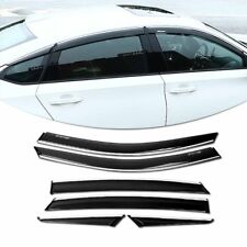 For 18&up Honda Accord Window Visor Rain Guard Shade Deflector Style 4PC Nice
