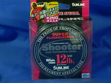 Fluorocarbon Sunline Shooter Marionette 150mt pesca spinning casting bass luccio