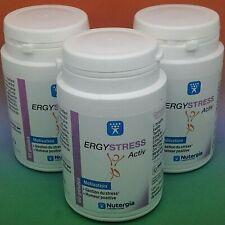 3x NUTERGIA ERGYSTRESS ACTIV  3X 60 gélules 04/2023 STRESS HUMEUR POSITIVE