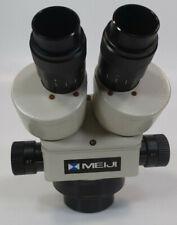 Meiji Emz 7 45x Stereo Zoom Microscope Model Emz 5