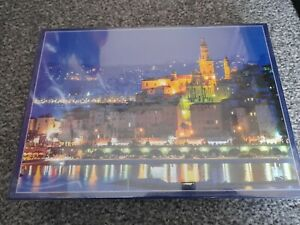 Night Lights On The French Riviera 1000 Piece Jigsaw Puzzle - New & Sealed
