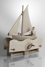 Salty Sailor - Timberkits Self-Assembly Wooden Construction Moving Model Kit