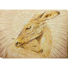Beaded Embroidery Kit Deers Mother's tenderness Beaded stitching Kit avec perle
