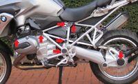 Rahmenkappen- / Radnabenset 13-tlg. für BMW R 1200 GS LC (≥ Bj.2013)