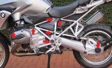 Für BMW R 1200 GS LC (Bj.2013-18) Rahmenkappen- / Radnabenset 13 - teilig