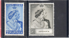 Antigua GV1 1949 Royal Silver Wedding sg 112-113 HH.Mint