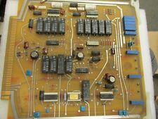 1 vintage  electronic circuit board early '80s for collectors see photos
