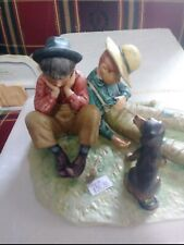Norman Rockwell'S Four Seasons 1954 - Fall - Disastrous Daring - Figurine