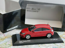 MINICHAMPS OPEL ASTRA GTC RED ART. 400 043021  DIE-CAST 1:43 NEW