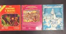 TSR DUNGEONS & DRAGONS BASIC RULEBOOK 1979 3RD EDITION 1980 ROLE PLAYING GAME