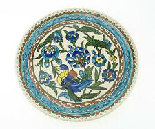 Handbemalter türkischer Wandteller Kütahya Vintage Boho Souvenier Kitsch Keramik