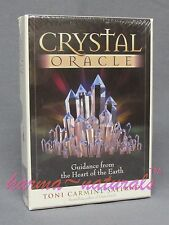 CRYSTAL Oracle Card Deck - by Salerno - NEW Guidance Divination Energy