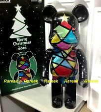 Medicom Be@rbrick 2016 Merry Christmas 1000% Stained Glass Xmas Tree Bearbrick