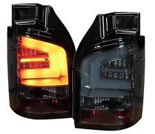 LED Rückleuchten VW T5 Transporter 03-15 / Multivan 03-09 schwarz Lightbar slbc