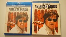 American Made (Blu-ray + DVD, NO Digital, 2018, 2-Disc Set) w/ Rare Slipcover