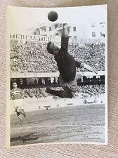 CALCIO ANNI '50 MATCH GENOVA  SAMPDORIA - LANEROSSI VICENZA - BARDELLI IN VOLO