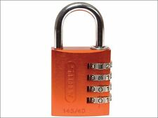 ABUS Mechanical - 145/40 40mm Aluminium Combination Padlock Orange 49527