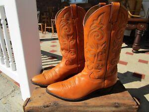 Vintage Men's Western Style Boots