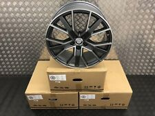 "4X 19"" RS6 PERFORMANCE STYLE ALLOY WHEELS 5X112 FITS AUDI A3 A4 A6 TT 8.5J WIDE"
