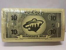 Minnesota Wild Collector's Edition Monopoly Board Game Replacement Parts - Money