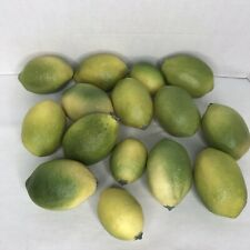 Lot Of Artificial Limes 2 Sizes Total 15