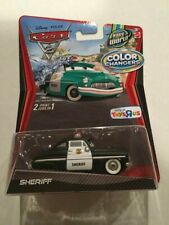 Disney Cars Color Changer Sheriff New in Pack