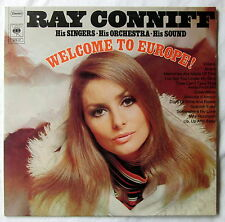 "12"" - VINILE LP Ray Conniff-Welcome to Europe!"