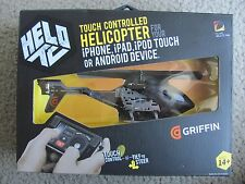 New HELO TC Touch Controlled Helicopter for iPhone, iPad, iPod touch or Android