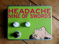 HEADACHE Harmonic Percolator - Nine of Swords Effects. Handcrafted in the UK.