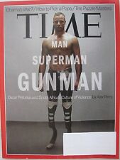 Time V181N9 - Man, Superman, Gunman - Oscar Pistorius - 11-Mar-2013