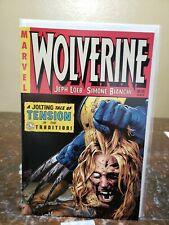 WOLVERINE #55 GREG LAND VARIANT COVER DEATH OF SABERTOOTH VF condition
