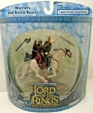 Lord of The Rings Warriors & Battle Beasts, LEGOLAS & GIMLI ON HORSEBACK